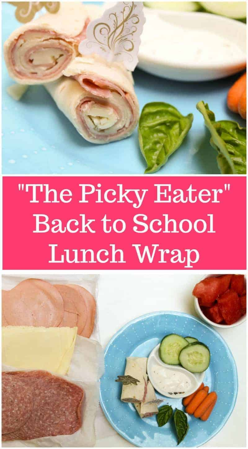 Check out the benefits of letting your kids make their own lunch, plus snag my Picky Eater lunch wrap recipe made with Boar\'s Head Deli Meats & Cheeses! YUM!