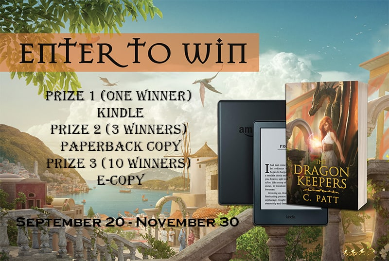 Check out the Dragon Keepers Series  & Enter to Win a Kindle Paperwhite!