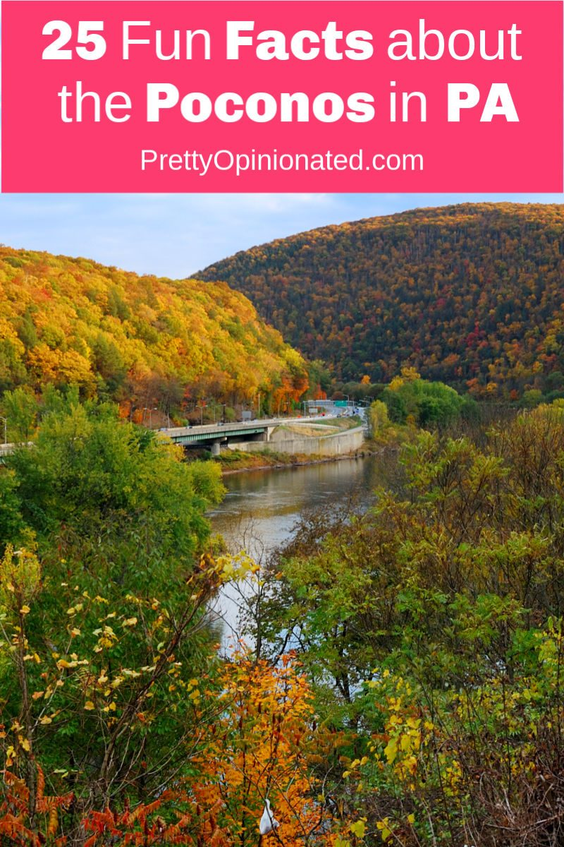 Where are the Poconos? How many ski trails do they have? Why should I visit? Who invented the heart-shaped tub? If you just need to know the answers to these burning questions, check out 25 fun facts about the Poconos!