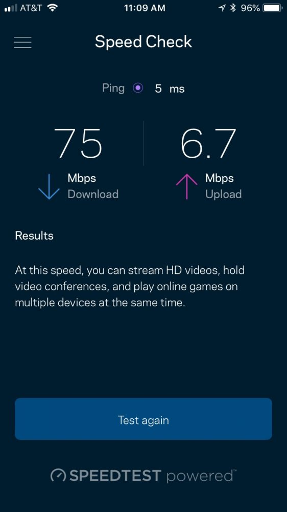 Linksys Velop Speed Check in App Linksys Velop vs Linksys Gaming Router: Which One Should You Get?