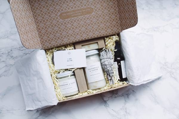 Merkaela Subscription Box: Organic and natural beauty products