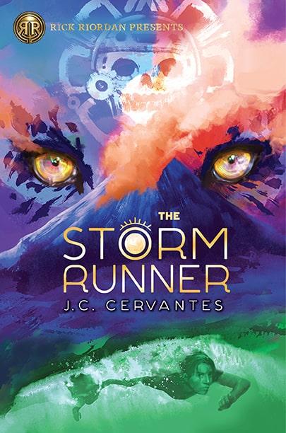 TheStormRunner Cover Rick Riordan Presents The Storm Runner by J.C. Cervantes