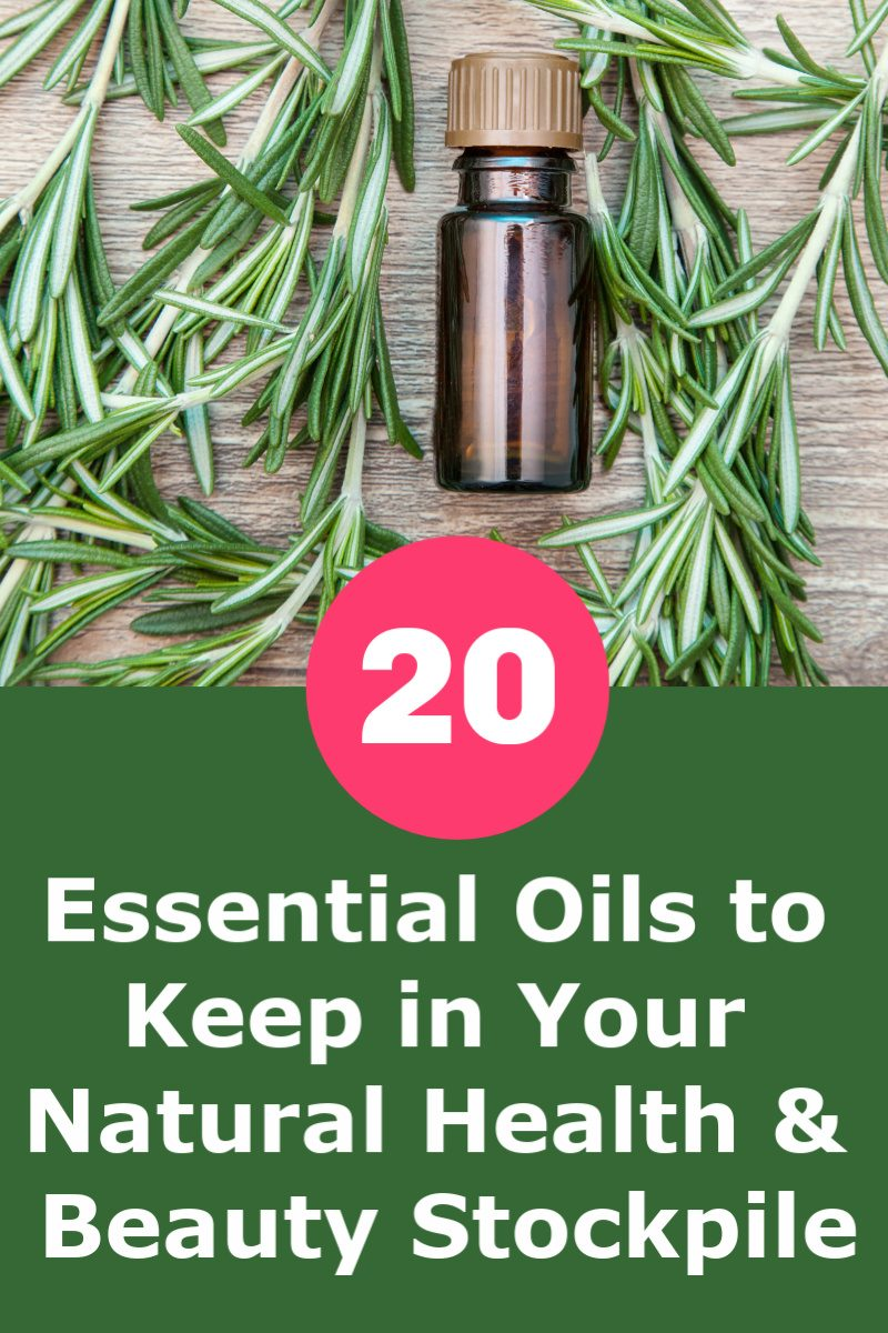 Want to build your own essential oils stockpile so you can make all those fabulous bath salts, sugar scrubs, & home remedies that you see on Pinterest? While there are hundreds (if not thousands) of different EOs out there, these are the top 20 that you'll want to keep with your natural health & beauty supplies!