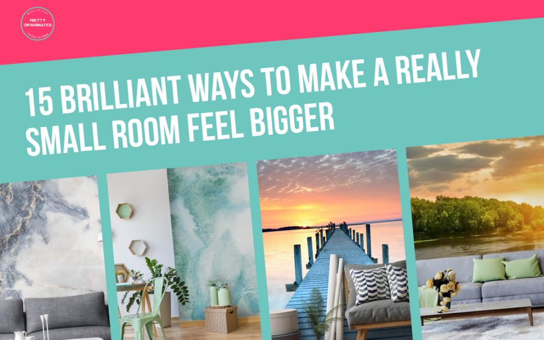 15 Brilliant Ways to Make a Really Small Room Feel Bigger