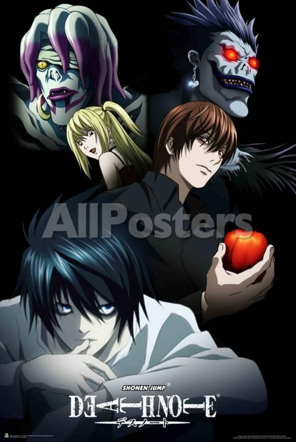 Deathnote poster allposters 7 Teen Bedroom Makeover Ideas that Won't Break the Bank