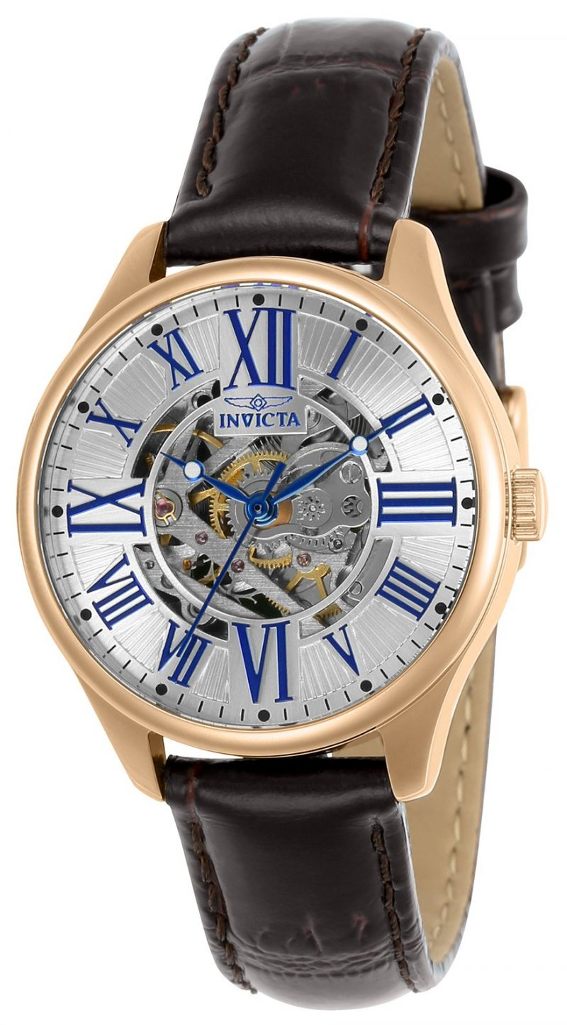 Invicta Automatic semi skeleton watch 5 Brilliant Ways to Make a Statement with Watches