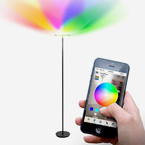 Kuler Sky Lamp Smart Floor Lamp from Brightech