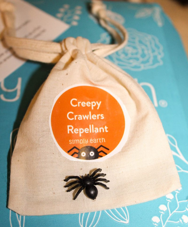 Make this Creepy Crawlers Repellent with your October Simply Earth subscription box!