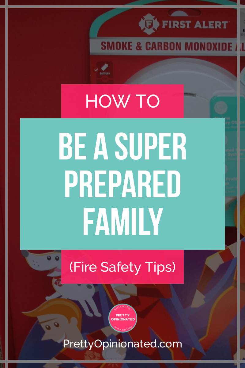 Are you a Super Prepared Family? You will be once you check out these fire safety tips! Learn how to make a fire escape plan that works for your whole family!