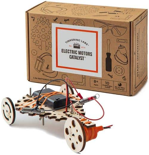 Tinkering Labs Electric Motors Catalyst STEM Kit 2018 Holiday Gift Guide