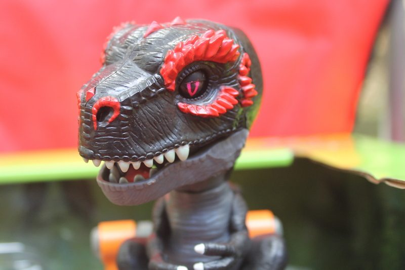 Untamed Jailbreak Playset a Hot Holiday Toy: Untamed Jailbreak Playset featuring Infrared T-Rex #TheUNTAMED