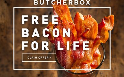 Save Time at the Grocery Store & Get Free Bacon for Life with ButcherBox