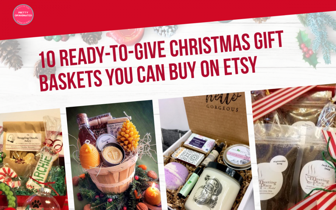 10 Ready-to-Give Christmas Gift Baskets You Can Buy on Etsy