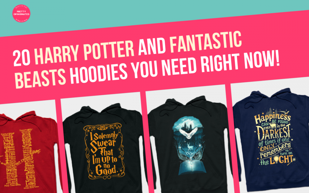 20 Must-Have Hoodies for Harry Potter & Fantastic Beasts Fans