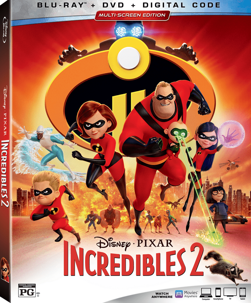 The big day is finally here! Incredibles 2 releases on Blu-ray 4K Ultra HD,™ Blu-ray™ DVD and On-Demand on Nov. 6!  Check out our thoughts & grab free printables!