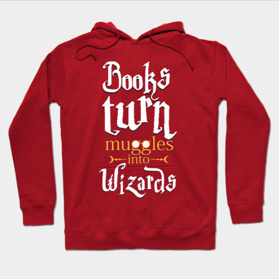 Books turn muggles into wizards by daniac