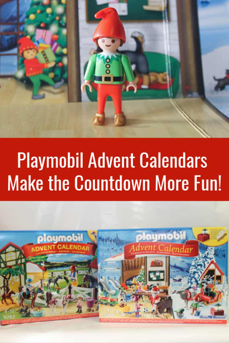Forget those cardboard calendars with cheap candy hiding behind the impossible-to-open doors, if you want a really fun countdown experience, you need a Playmobil Advent Calendar! Check out my favorites!