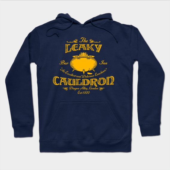 The Leaky Cauldron Harry Potter hoodie on TeeLaunch.