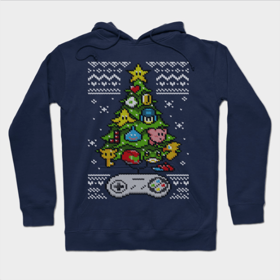 A Classic Gamer Christmas Hoodie