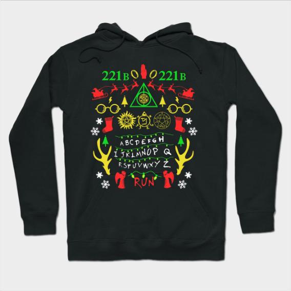 Multifandom Ugly Christmas Sweatshirt Hoodie