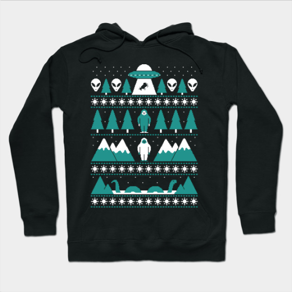 Paranormal Christmas Sweater Hoodie