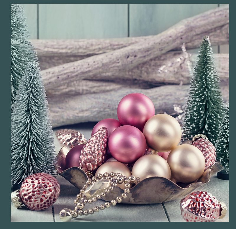 Shabby Chic Decorations in a Bowl Save Money on Holiday Decor with these Budget-Friendly & Shabby Chic Christmas Ideas