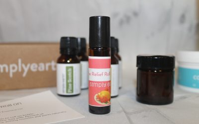 Make Your Own Natural Ache Relief Roll On & More With November's Simply Earth Recipe Box!