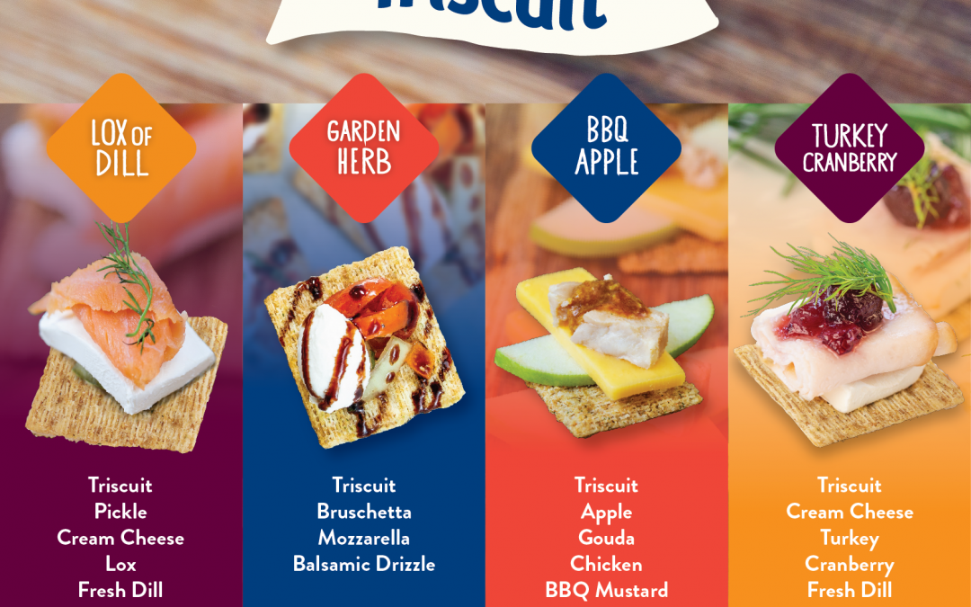 Holiday Party Appetizers Made Easy with Triscuit & Chef Levi