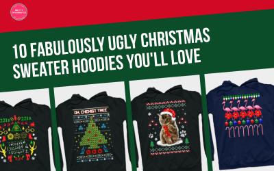 10 Fabulously Ugly Christmas Sweater Hoodies