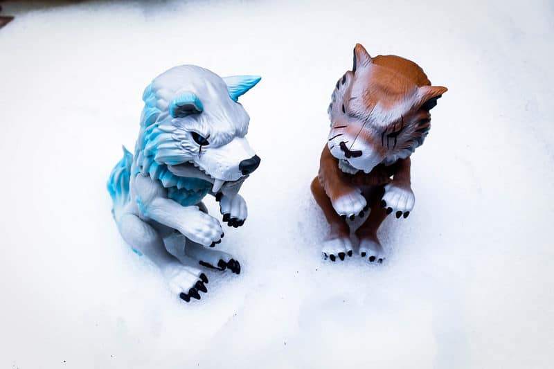 HOT TOY ALERT: Go Wild withUNTAMED Dire Wolves and Sabre Tooth Tigers