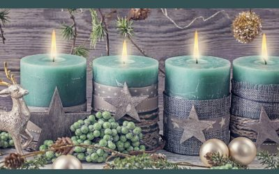 Save Money on Holiday Decor with these Budget-Friendly & Shabby Chic Christmas Ideas