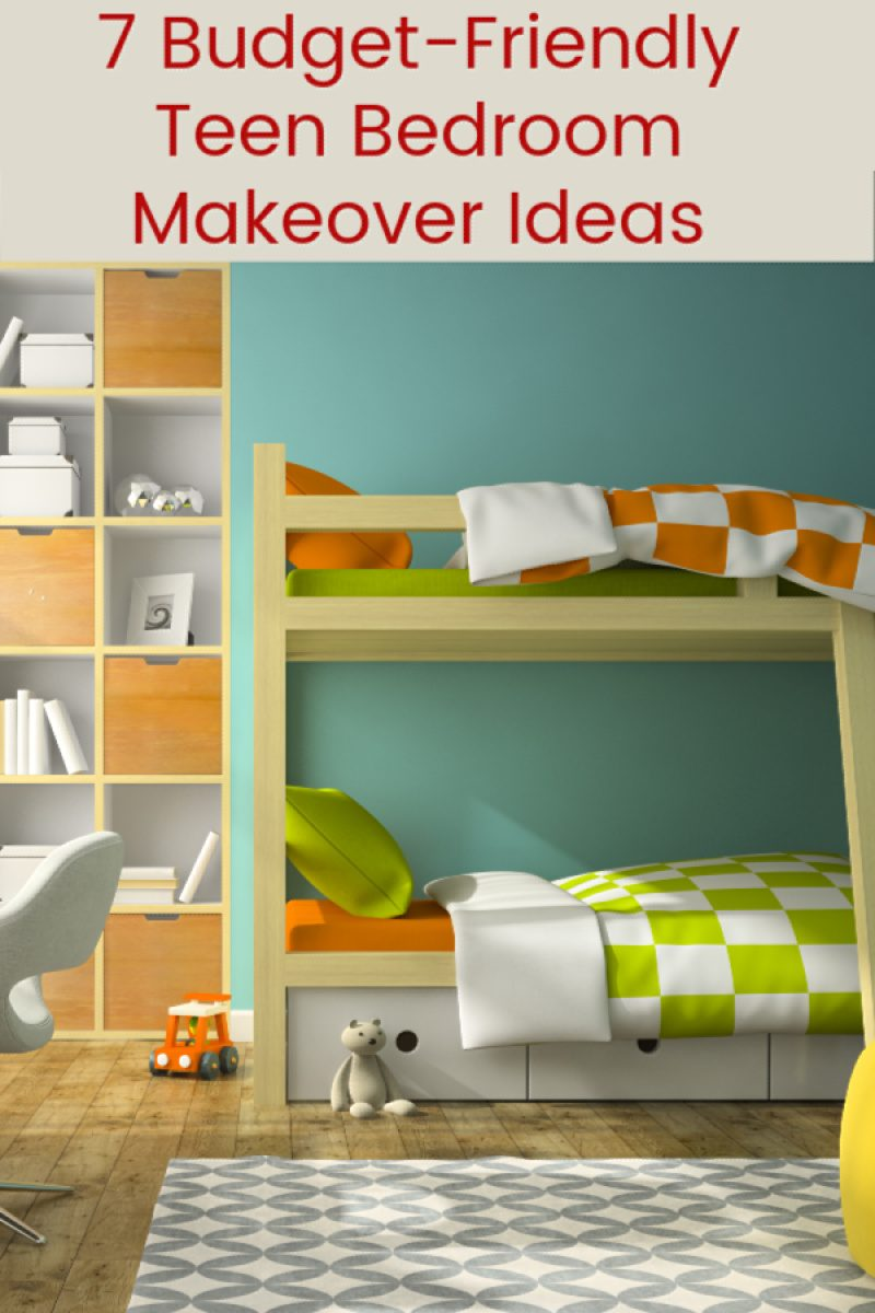 Give your teen the room of their dreams without busting your budget! Check out these 7 wallet-friendly tips!