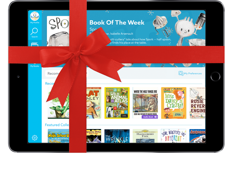 Give the Gift of Reading with Epic!