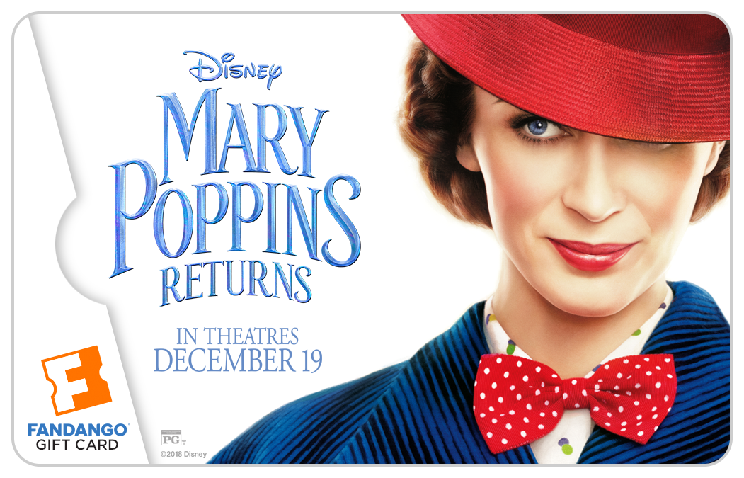 Celebrate Mary Poppins Returns with a $25 Fandango Gift Card Giveaway