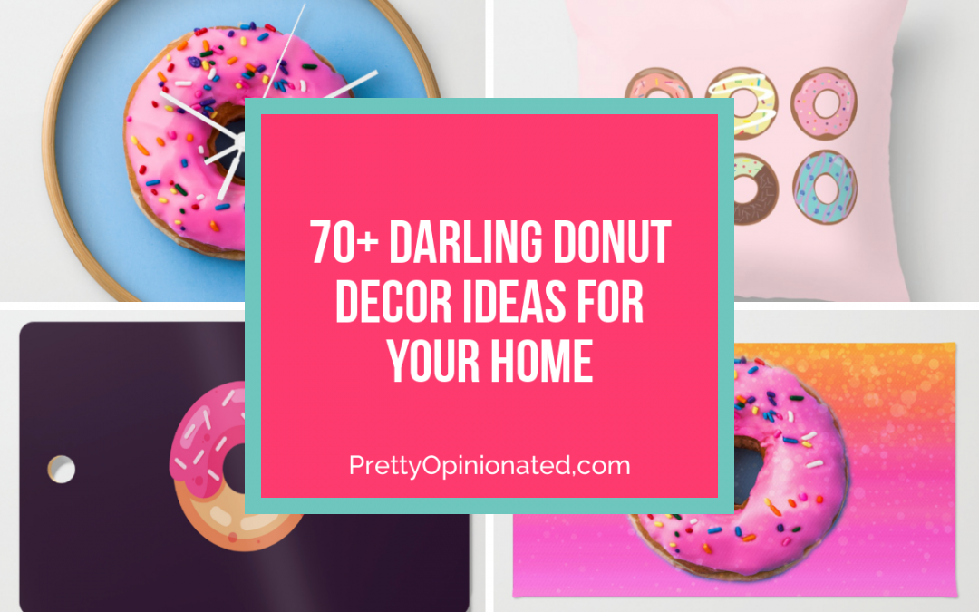 70+ Darling Donut Decor Ideas for Your Home