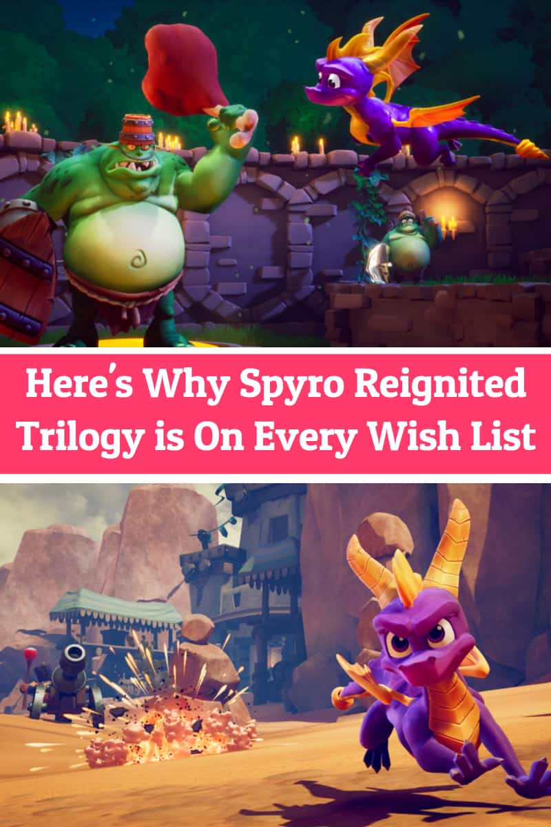 TheSpyro Reignited Trilogyis the perfect blend of nostalgia and newness by keeping everything you love about the original games but giving them an updated makeover for a new generation. Find out why you'll want to add it to your wish list!