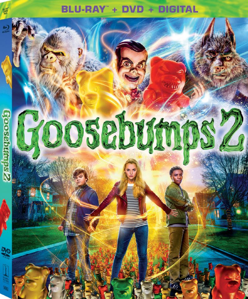 GOOSEBUMPS 2 is now available on Digital and arrives on Blu-ray™ Combo Pack and DVD on January 15th from Sony Pictures Home Entertainment! Below, please enjoy a batch of thrilling science experiments that you should try with your kids at home, as well as a few awesome bonus features clips!
