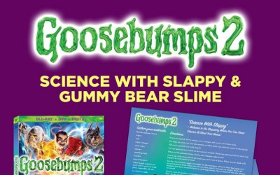 Goosebumps 2: Gummy Bear Slime Recipe, Science Experiments, Bonus Clips and More!