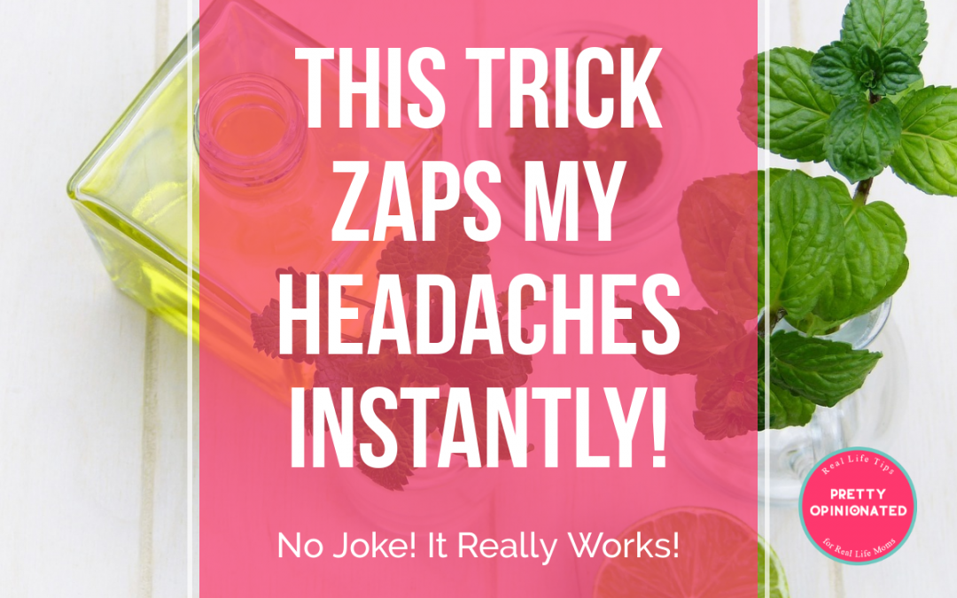 The ONE Trick that Cures My Headaches Instantly