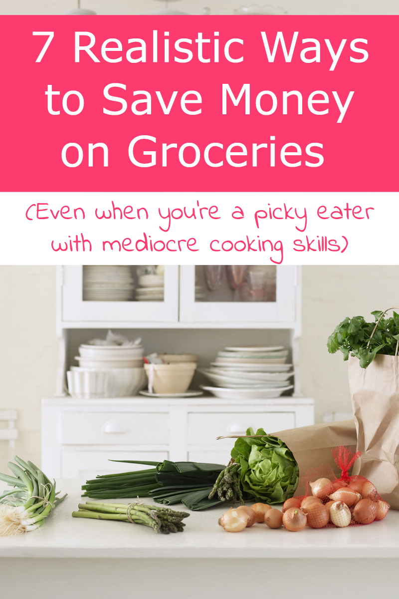 How do you really stretch your food budget and realistically save money on groceries when you're both a super picky eater AND you can't really cook well? It's definitely a challenge, but not impossible! Find out what's working for me!