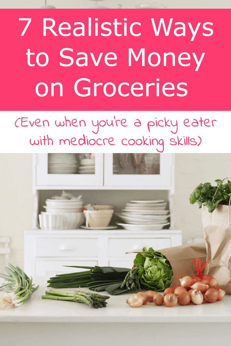 How do you really stretch your food budget and realistically save money on groceries when you\'re both a super picky eater AND you can\'t really cook well? It\'s definitely a challenge, but not impossible! Find out what\'s working for me!