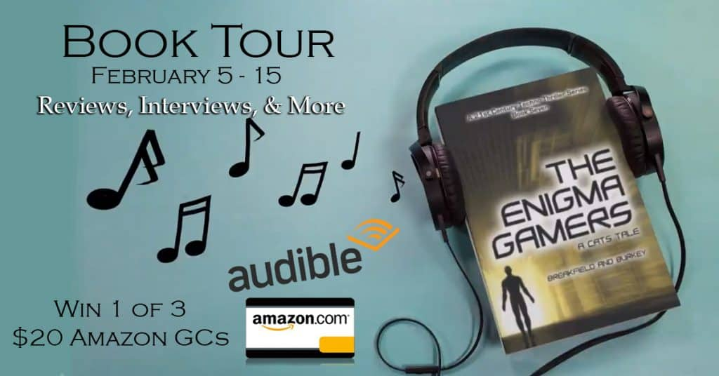 The Enigma Gamers – A CATS Tale: Author Interview + Giveaway