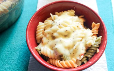 Sweet & Zesty Italian Poppy Seed Pasta Salad Recipe