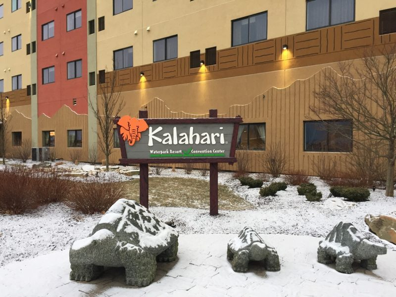 Thinking of visiting Kalahari Poconos resort and waterpark? Check out my super long and detailed review of the hotel, park, and amenities before you book!