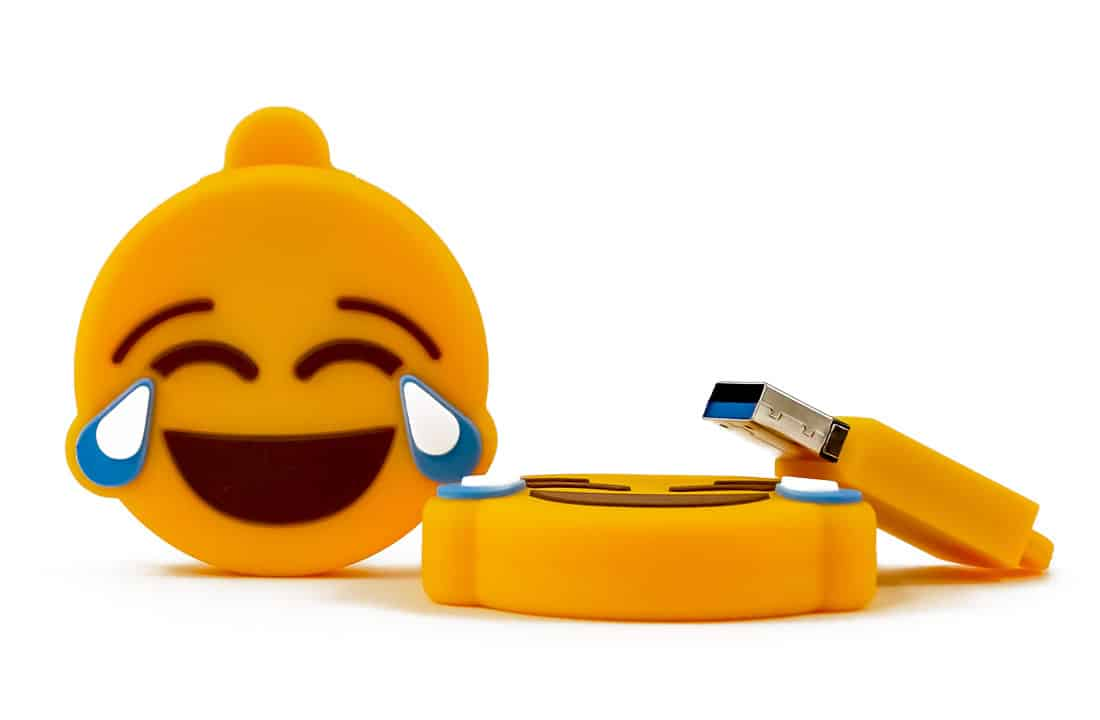 Emoji flash drives 2019 Easter Gift Guide