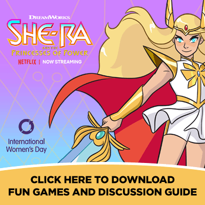 Celebrate International Women's Day with She-Ra (Free Printables)