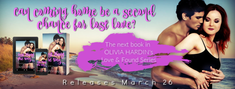 Lost Along the Way (Love & Found Series by Olivia Hardin) Book Blast + Giveaway