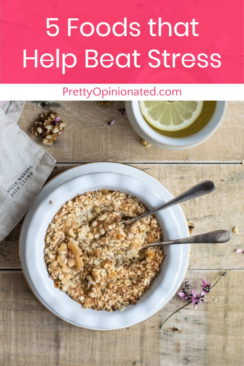 Food and stress. What's the connection? Eating the right food can help reduce your stress.