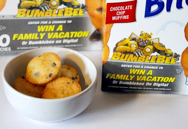 Celebrate the Release of BUMBLEBEE with Entenmann's Little Bites ($25 Visa GC Giveaway)