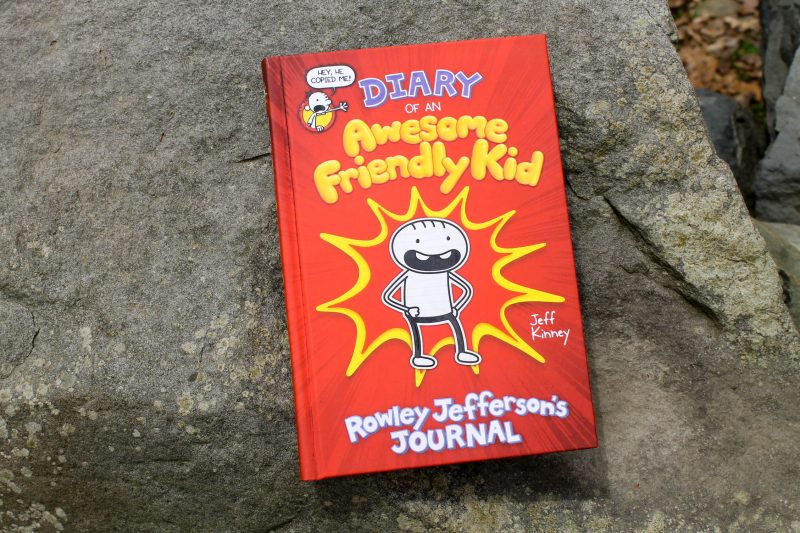 Have you heard? Rowley Jefferson, Greg's BFF in the Diary of a Wimpy Kid series, wrote his own diary! Check out the review and tell me all about your own awesome friendly kid!